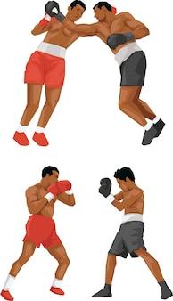 Championnat de combat de boxe