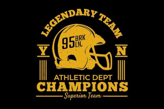 Champions d'athlétisme brooklyn ancien