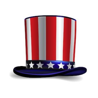Chapeau américain oncle sam