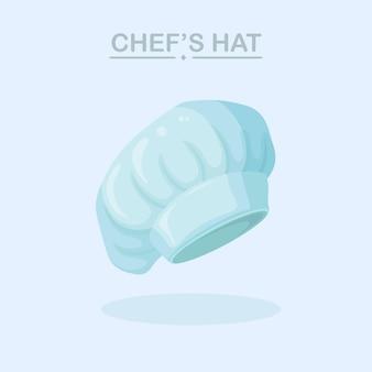 Chapeau de chef de cuisine, casquette. couvre-chef uniforme de restaurant, vêtements professionnels du personnel de cuisine