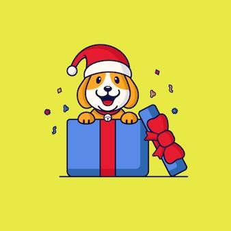 Chapeau de chien cadeau surprise