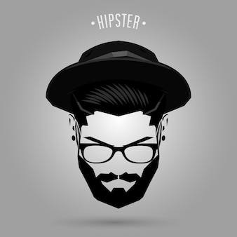 Chapeau homme hipster