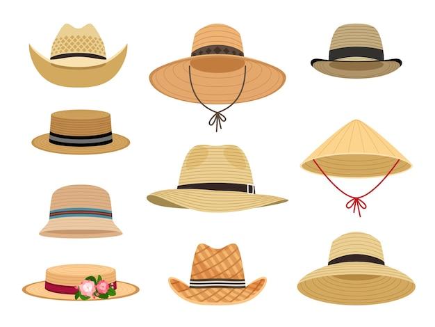 Chapeaux de jardinage des agriculteurs.