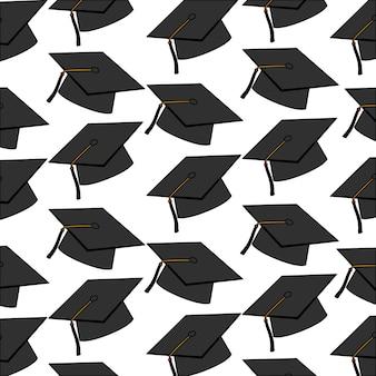 Chapeaux modèle de graduation
