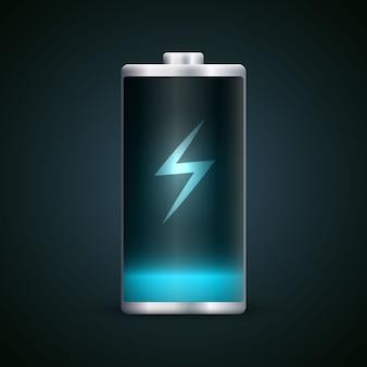 Charge de la batterie pleine énergie.
