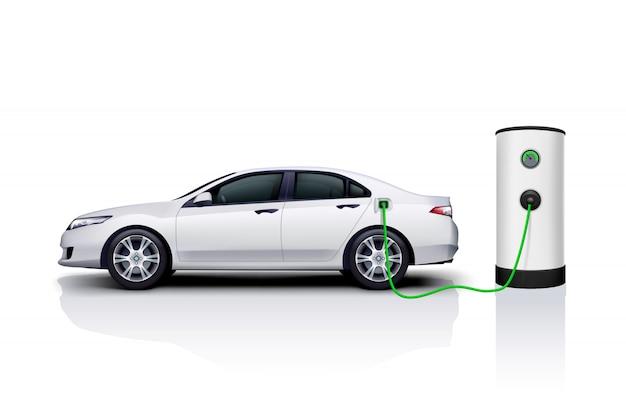 Charge de voiture électrique