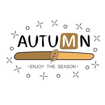 Chargement d'automne. l'automne commence le concept créatif. conception de la barre de progression. illustration vectorielle.
