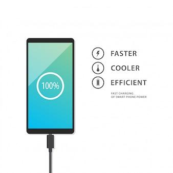 Chargement de téléphone intelligent
