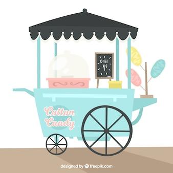 Chariot de bonbons en coton mignon