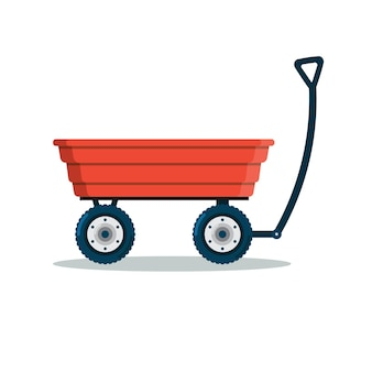 Chariot de jardin, brouette,