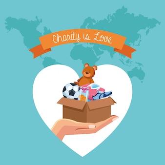 Charité et donation