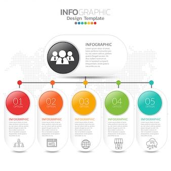 Charte d'entreprise avec des icônes de l'entreprise.