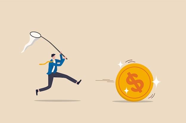 Chasing concept de fonds communs de placement actif de haute performance.