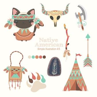 Chat amérindien brun