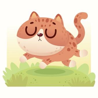 Chat bébé mignon