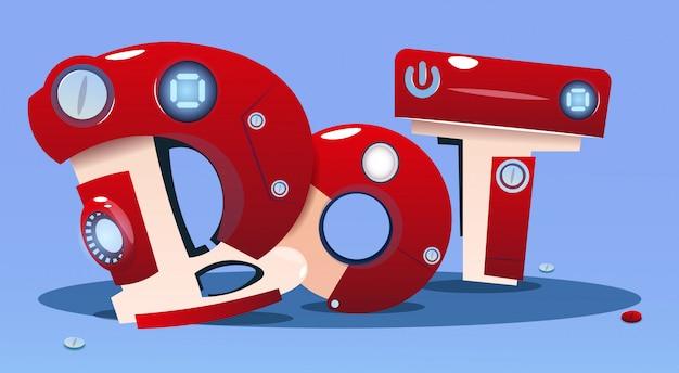 Chat bot robot assistance virtuelle de site web ou d'applications mobiles, concept d'intelligence artificielle