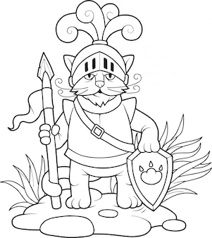 Chat chevalier