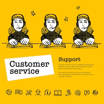 Chat du service client