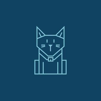 Chat géométrique simple