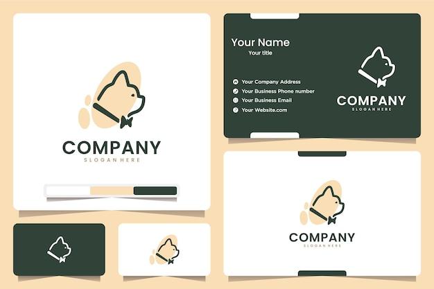 Chat, inspiration de conception de logo