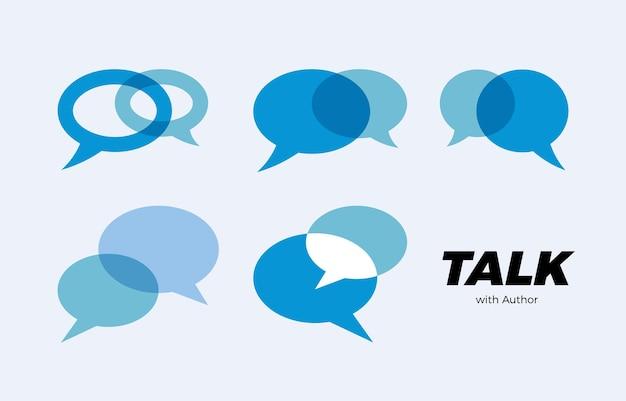 Chat parler parler icône communication consultation logo réponse dialogue messagerie signe consulter soutien