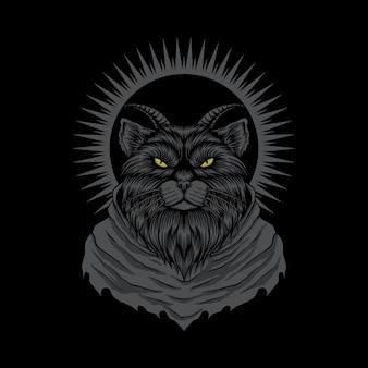 Chat satanique