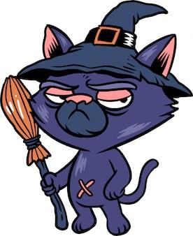 Chat sorcière