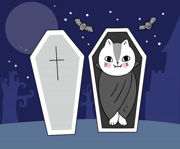 Chat vampires