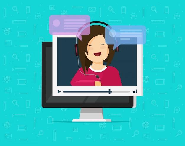Chat vidéo sur ordinateur