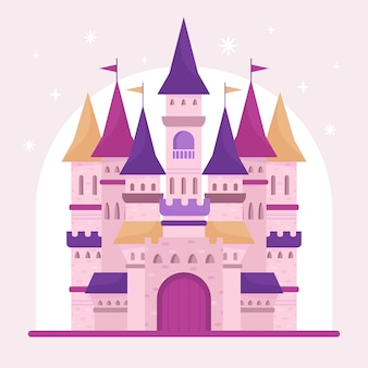 Château de conte de fées magique