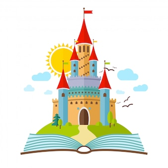 Château de conte de fées
