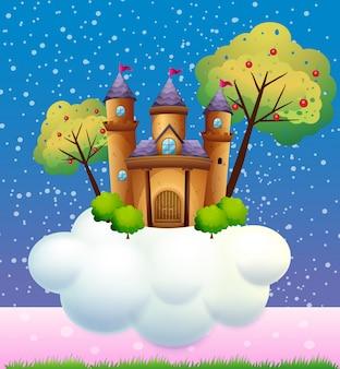 Un château sur un nuage