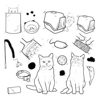Chats et produits pour chats