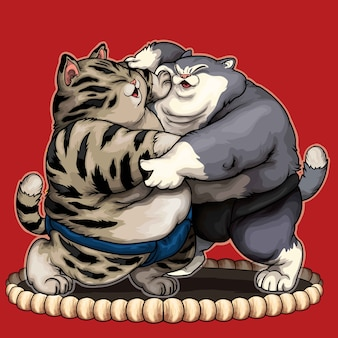 Chats sumo