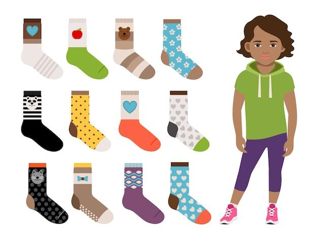 Chaussettes enfants pour filles