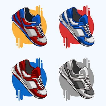 Chaussure sneaker clipart