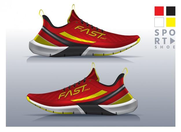 Chaussures de course à pied, conception de baskets