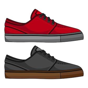 Chaussures de skateboard