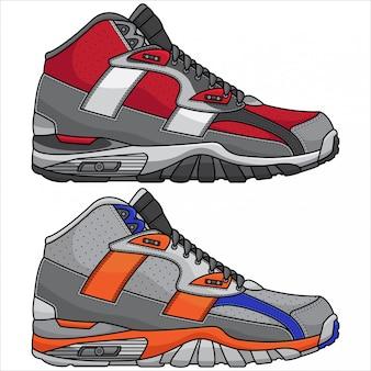 Chaussures de sport modernes