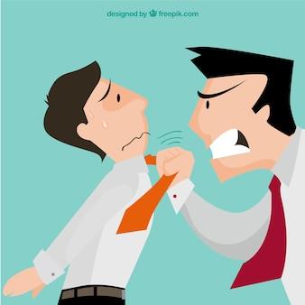 Chef agressif