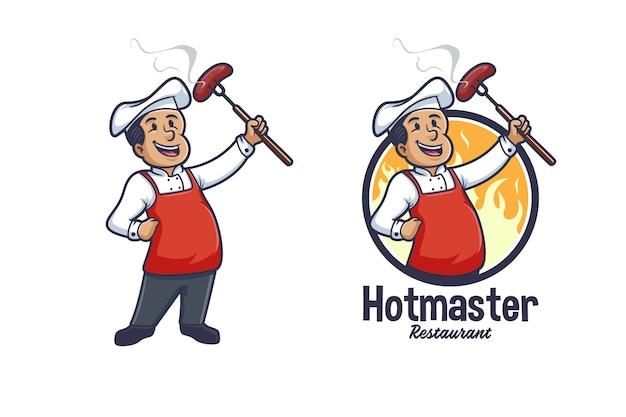 Chef barbecue et grillades