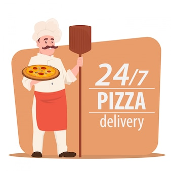 Chef de cuisine pizza