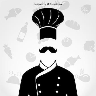 Chef de cuisine uniforme