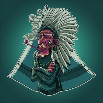 Le chef indien