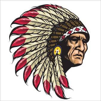 Chef indigène américain