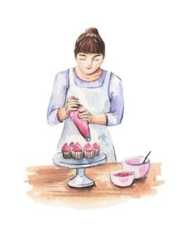 Chef pâtissier femme