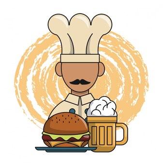 Chef de restaurant et conception du dîner