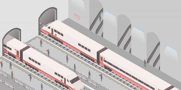 Chemin de fer souterrain