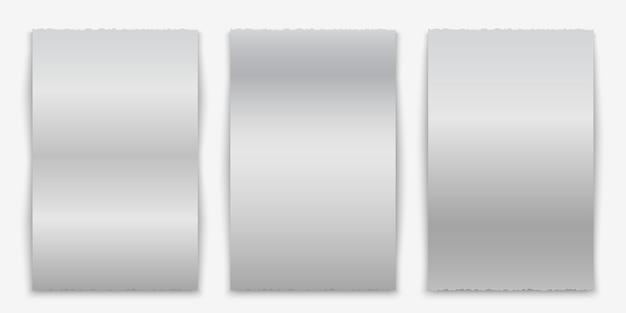 Chèque papier vierge, reçu de vente ou modèle de facture