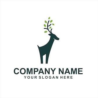 Cher vecteur de logo animaux